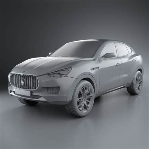 Maserati 2013 Models by Maserati Kubang 2013 3d Model For In Various Formats