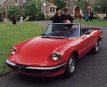 The Graduate Alfa Romeo by 1986 Alfa Romeo Spider Graduate Review