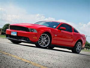 Red 2011 Ford Mustang GT 5.0L With California Special Gril… | Flickr