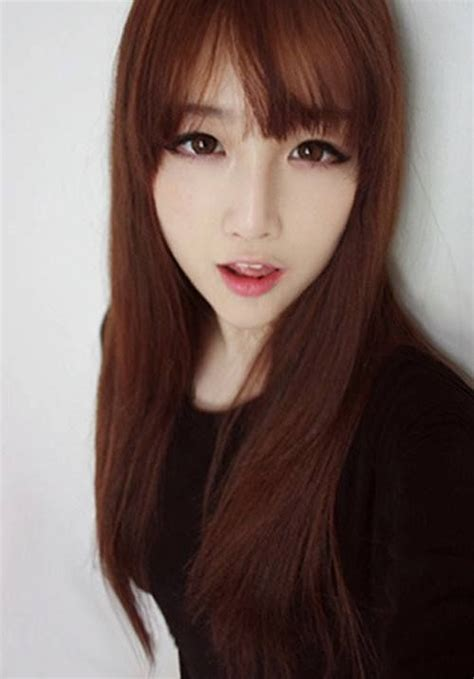 hair style with flower pin by uniqso on inspired makeup ulzzang 7716