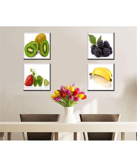 cuadros de frutas  decorar cocina comedor    cm
