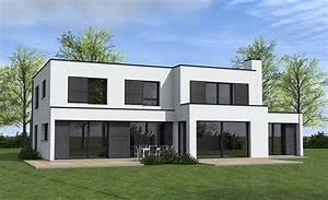 crepi maison moderne maison plain pied avec mezzanine With marvelous couleur facade maison moderne 10 ravalement de facades