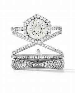 stacked engagement rings you39ll love martha stewart weddings With martha stewart wedding rings