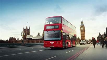 Bus London Double Decker Electric Cars Bikes