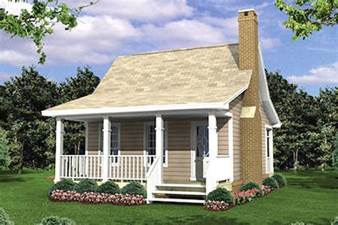 Cottage Style House Plan 1 Beds 1 Baths 400 Sq/Ft Plan