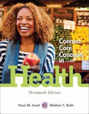 Looseleaf Connect Core Concepts In Health, Brief With