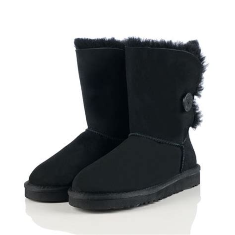 cheap ugg  womens bailey button  black boots hot