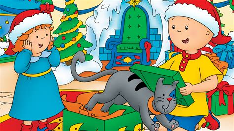 Caillou Celebrates The Holidays With New Caillou Holiday