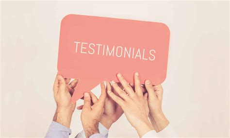 The Amazing Power Of Website Testimonials