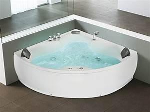 Baignoire D Angle 130x130 : baignoire d 39 angle baignoire baln o whirlpool ~ Edinachiropracticcenter.com Idées de Décoration
