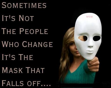Quotes Hide Behind Mask