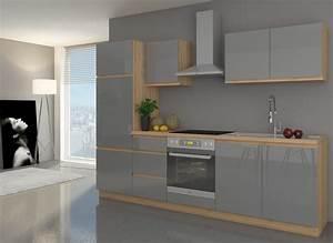 Sofa In Der Küche : k che zoya 270 k chenzeile k chenblock hg grau buche iconic variabel stellbar k chen ~ Bigdaddyawards.com Haus und Dekorationen
