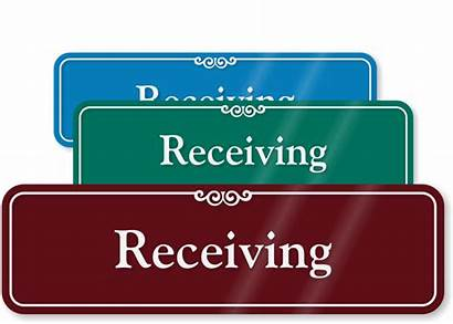 Receiving Sign Se Signs 1660 Mail Door