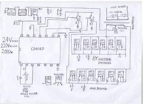 Circuits How Build Kva Inverter Circuit Diagram