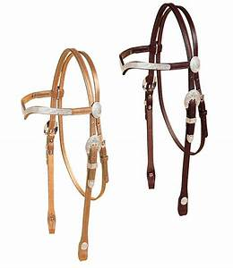 Tory Leather Western Show Bridle