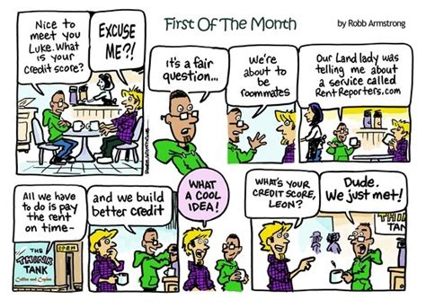 First Of The Month Comic Strip #1