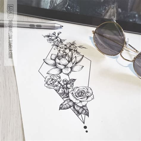 lotus flower tattoo design tumblr