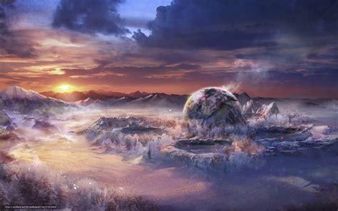 plante bureau tlcharger fond d 39 ecran paysage monde fantastique