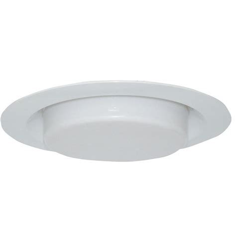 Bathroom Light Cover by Design House 6 In White Recessed Lighting Shower Trim