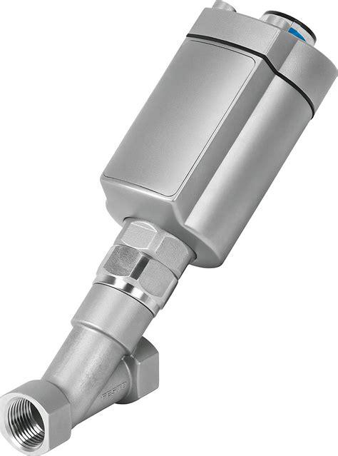 Angle seat valves VZXA | Festo Australia