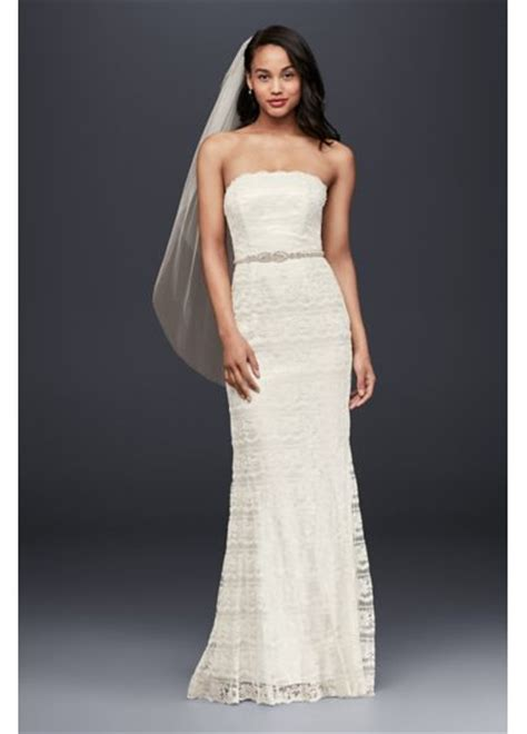 Lace Sheath Wedding Dress With Godet Inserts  Davids Bridal. Mermaid Wedding Dresses With Tulle. Wedding Dresses For 50 Year Olds. Wedding Dresses 2016 Tumblr. Tulle Ball Gown Wedding Dresses. Simple Wedding Dresses Rustic. Chiffon Hippie Wedding Dresses. Plain Satin Wedding Dresses. Where Can You Buy Vera Wang Wedding Dresses In The Uk