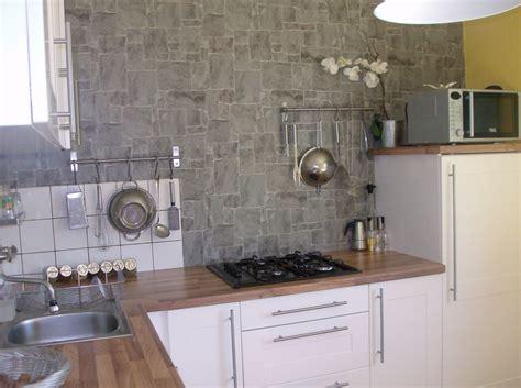 papier peint cuisine lessivable papiers peints cuisine lessivable 4 murs cuisine idées
