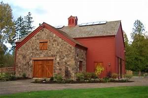 colonial estate redmond wa farmhouse exterior With barn homes washington state