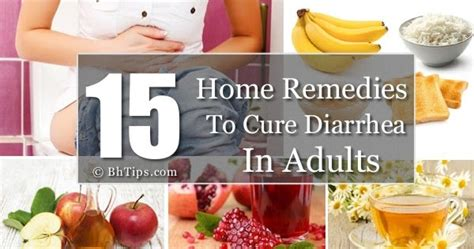 15 Home Remedies To Cure Diarrhea In Adults  Best Health Tips