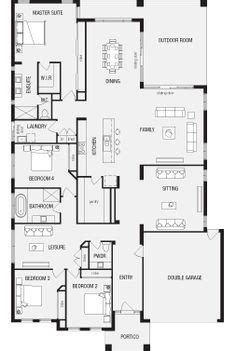 5 Bedroom House Plans Australia by Australian House Plans With Master At Rear Search