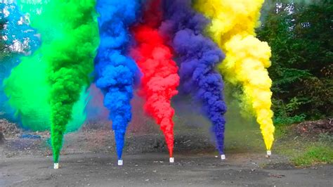 color smoke bomb how to make vibrant colored smoke grenades survival