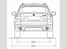 BMW X5 E70 Abmessungen & Technische Daten Länge