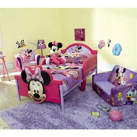 minnie mouse  piece toddler bedding set disney toys   tru bedding minnie mouse