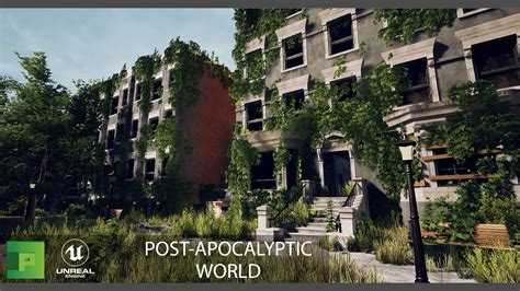 Post Apocalyptic World 3D Environment Pack   PolyPixel