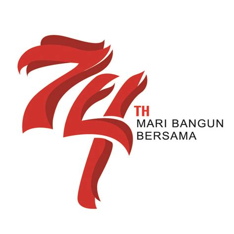 logo hut kemerdekaan ri   unofficial logo