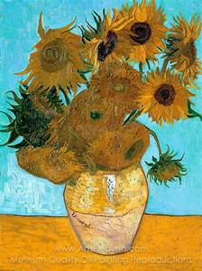 Vincent Van Gogh Sunflowers | Painting Reproduction of ...