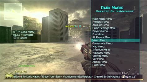 Mw2 mod menu patch herunterladen ps3 | ditema
