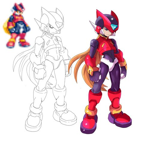 Megaman Zero Artwork By Rapharanker On Deviantart