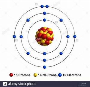 Diagram Of Phosphorus Atom