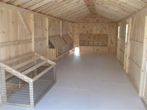 larger coops     enclosed roost bars elevated