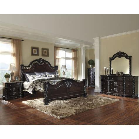 king poster bedroom sets b682 72 furniture mattiner bedroom eastern king 15751 | b682 72.a