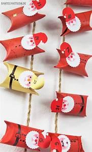 Basteln Für Weihnachten Erwachsene : basteln mit kindern adventskalender selber basteln mit klopapierrollen adventskalender ~ Orissabook.com Haus und Dekorationen
