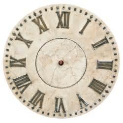 Antique Clock Faces without Hands