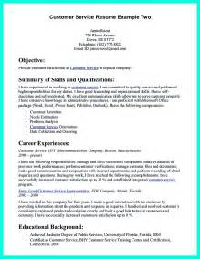 Customer Service Resume Exles by Csr Resume Or Customer Service Representative Resume