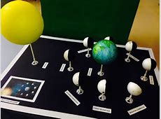 Phases of the Moon Diorama – Year 7 Science Belmont City