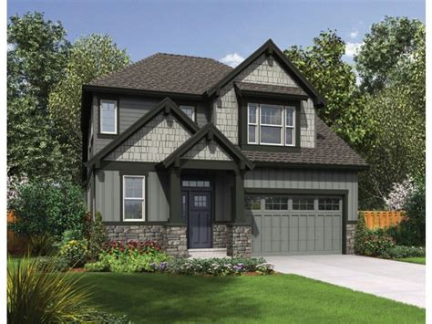 Craftsman Style House Plan 4 Beds 2 5 Baths 2158 Sq/Ft