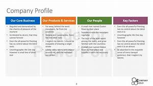 company profile template oninstall With company profile template for small business