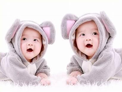 Twin Babies Naughty