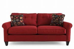 Interior design and red sofa cubtab living room color for for La z boy sectional sofas