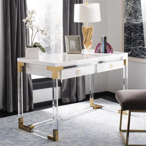 dariela acrylic desk safavieh