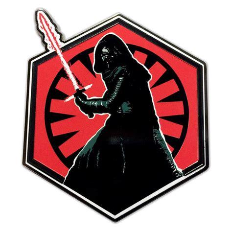 Dark Sides Kylo Collectible Pin | Star Wars – Dark Ink